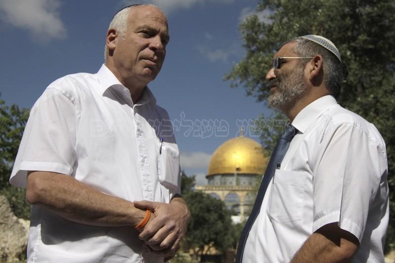 """הגר""""א נבנצל: """"בהר הבית השמם שועלים יהודים הלכו בו!"""""""