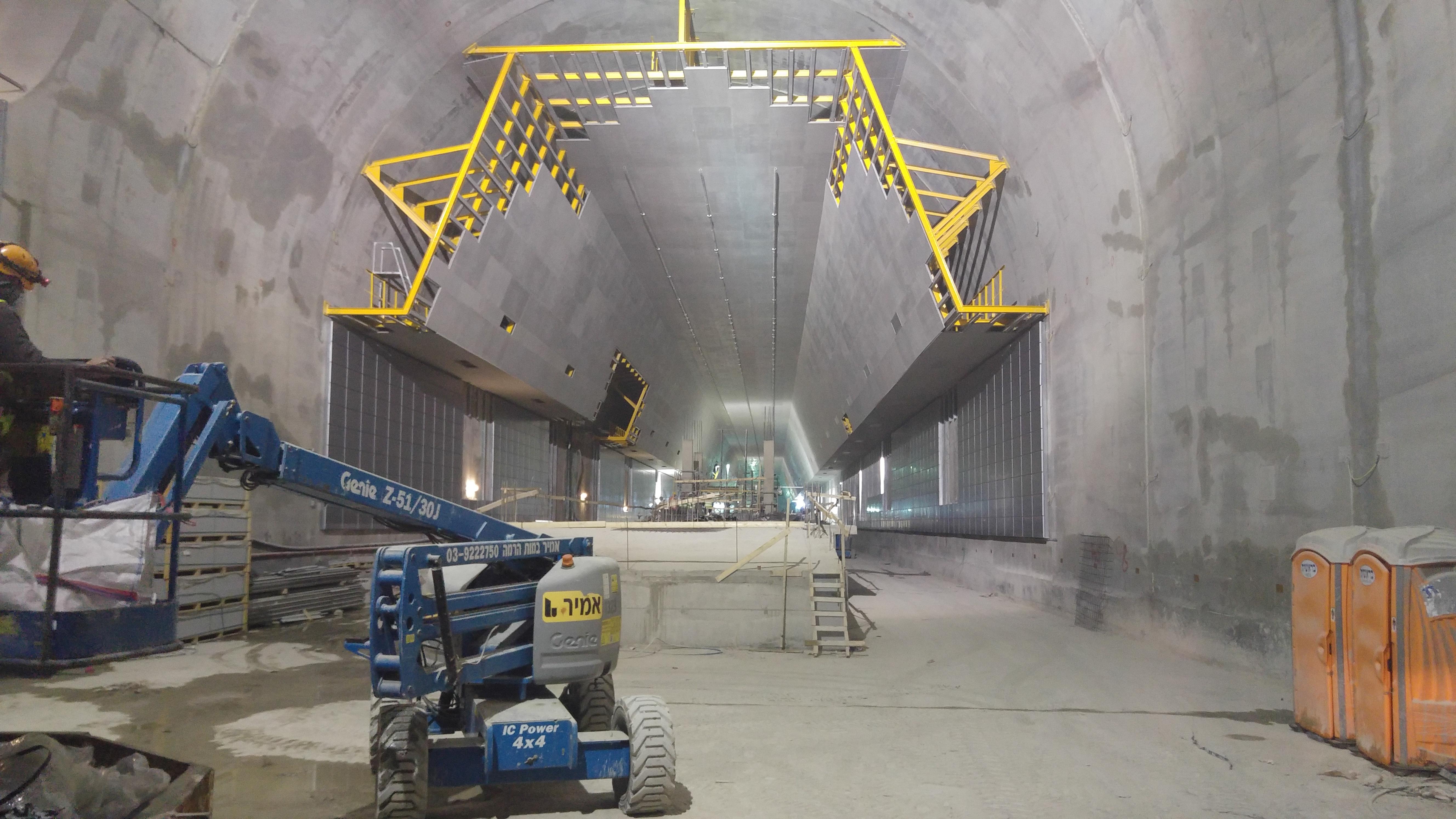 80 מטר מתחת לאדמה, 4,000 איש בשעה: פרויקט הרכבת לירושלים מתקדם